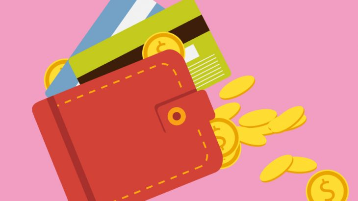 クレジットカードとブロックチェーン技術のイメージ画像