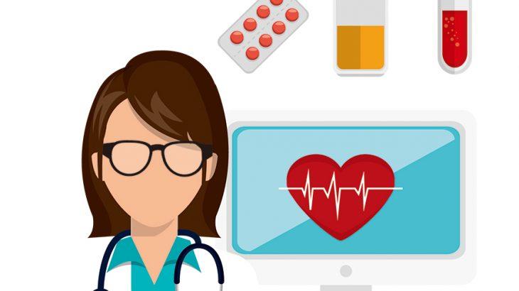 ブロックチェーンと医療のイメージ画像