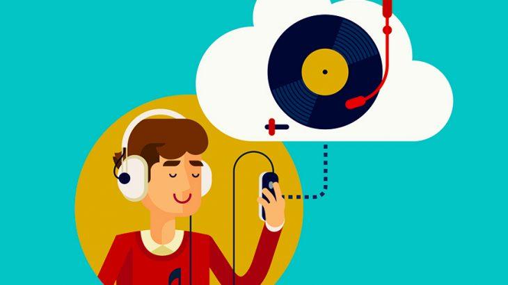 ブロックチェーンと音楽のイメージ画像