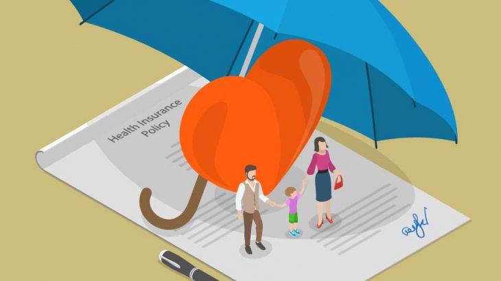 ブロックチェーンと保険業界のイメージ画像