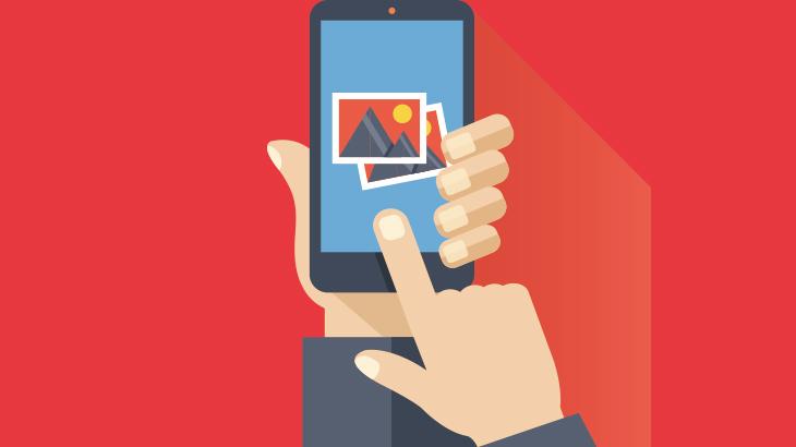 ブロックチェーンと画像の使用についてのイメージ画像