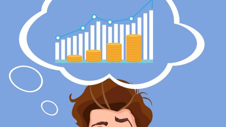 株式取引とブロックチェーン技術のイメージ画像