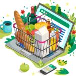生鮮食品ECサイトのイメージ画像