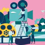 映像コンテンツ市場をオンライン化して取引摩擦を削減する