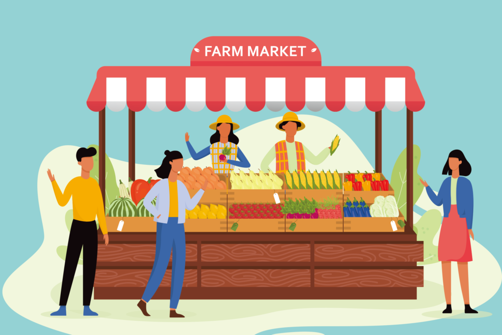 農業販売イメージ画像