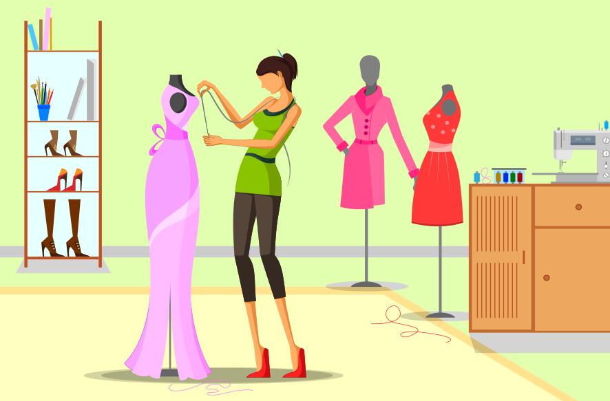 ファッションデザイン 知的財産 イメージ画像