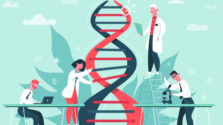 遺伝子検査イメージ画像