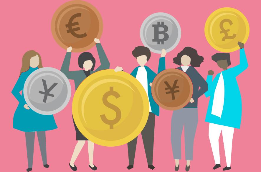 暗号通貨価値のイメージ画像