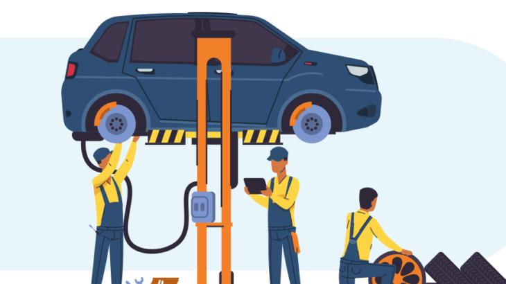 車修理のイメージ画像