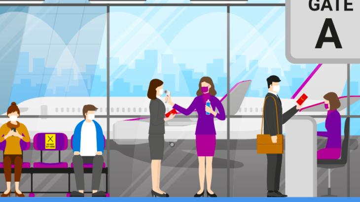 航空業界がブロックチェーンベースのヘルスアプリケーションを提供開始