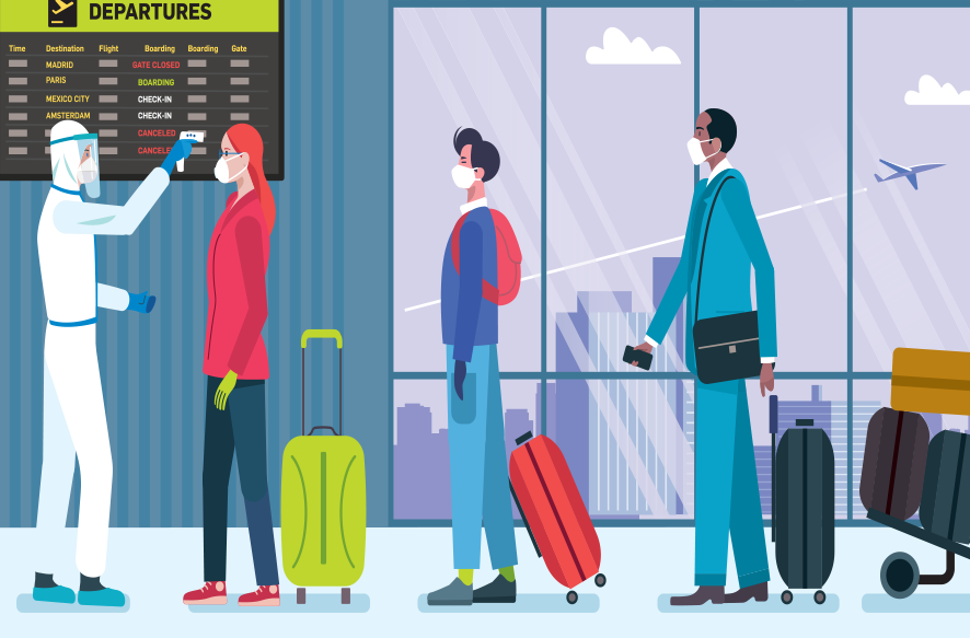 空港検査イメージ画像