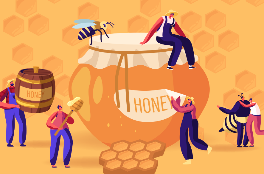 蜂蜜イメージ画像