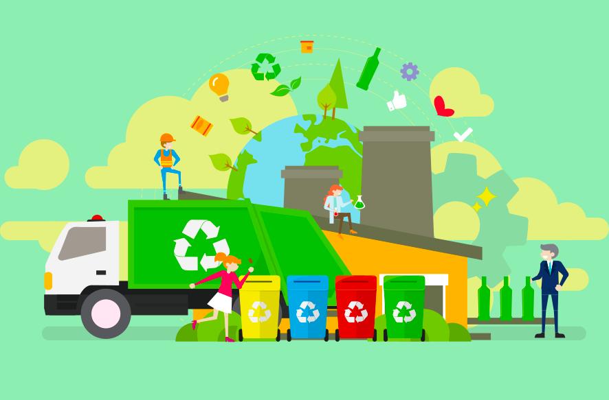 リサイクルイメージ画像