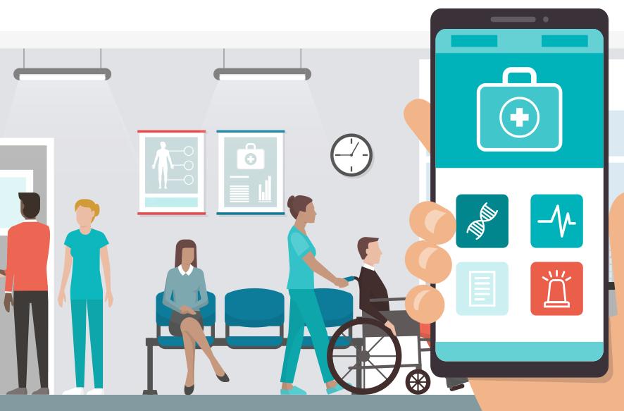 医療管理プラットフォームイメージ画像