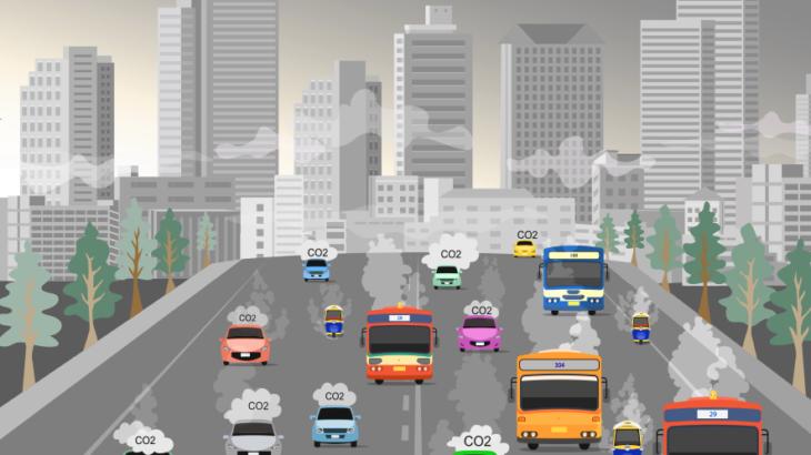 大気汚染イメージ画像