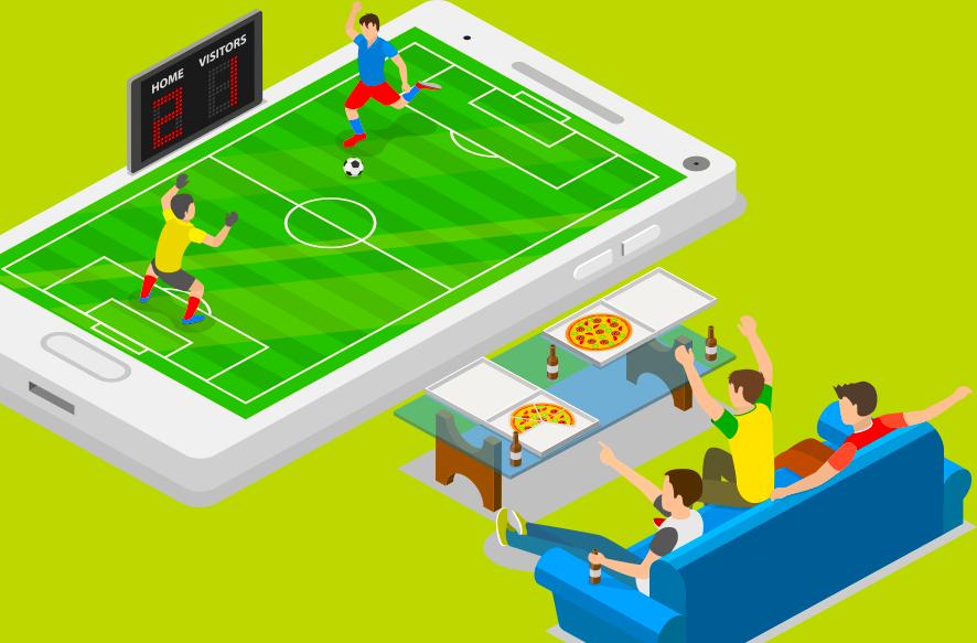 スポーツメディアプラットフォーム イメージ画像