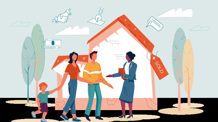 【不動産業界でのブロックチェーン活用事例】  ブロックチェーンで賃貸入居のプロセスをワンストップ化